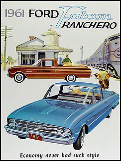 1961 Ford Ranchero Sales Brochure Reprint