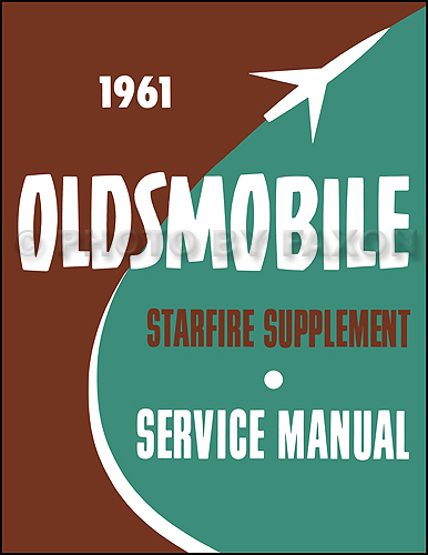 1961 Oldsmobile Starfire Repair Manual Supplement Reprint
