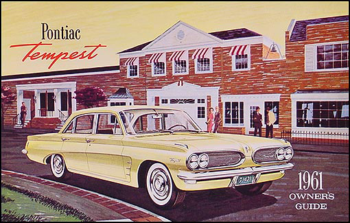 1961 Pontiac Tempest Owners Manual Reprint