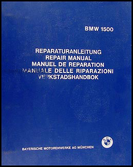 1962-1964 BMW 1500 Repair Manual Original