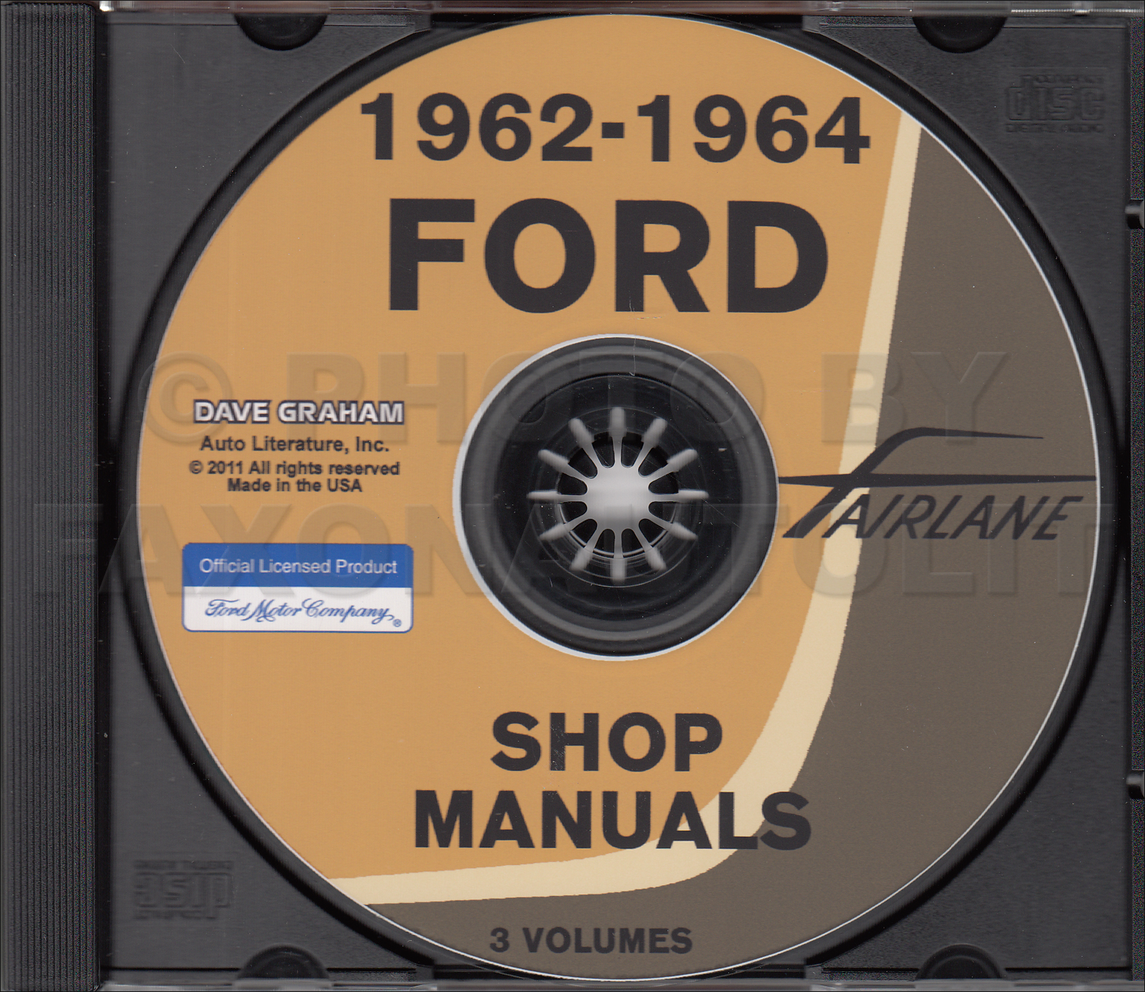 1960 Ford Car CD-ROM Shop Manual