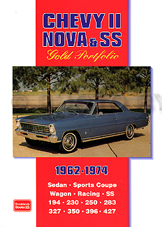 Portfolio of 44 Magazine Articles on 1962-1974 Chevy II, Nova, & SS
