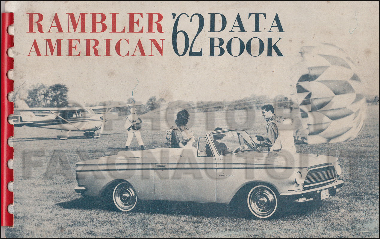 1962 AMC Rambler American Data Book Original
