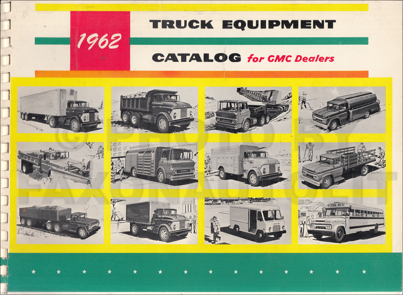1962 GMC Truck Special Equipment Catalog