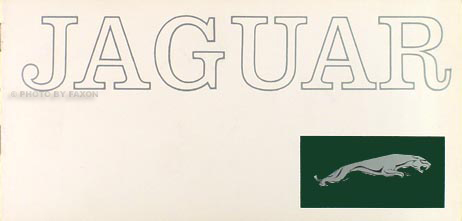 1962 Jaguar Sales Brochure Original--All Models