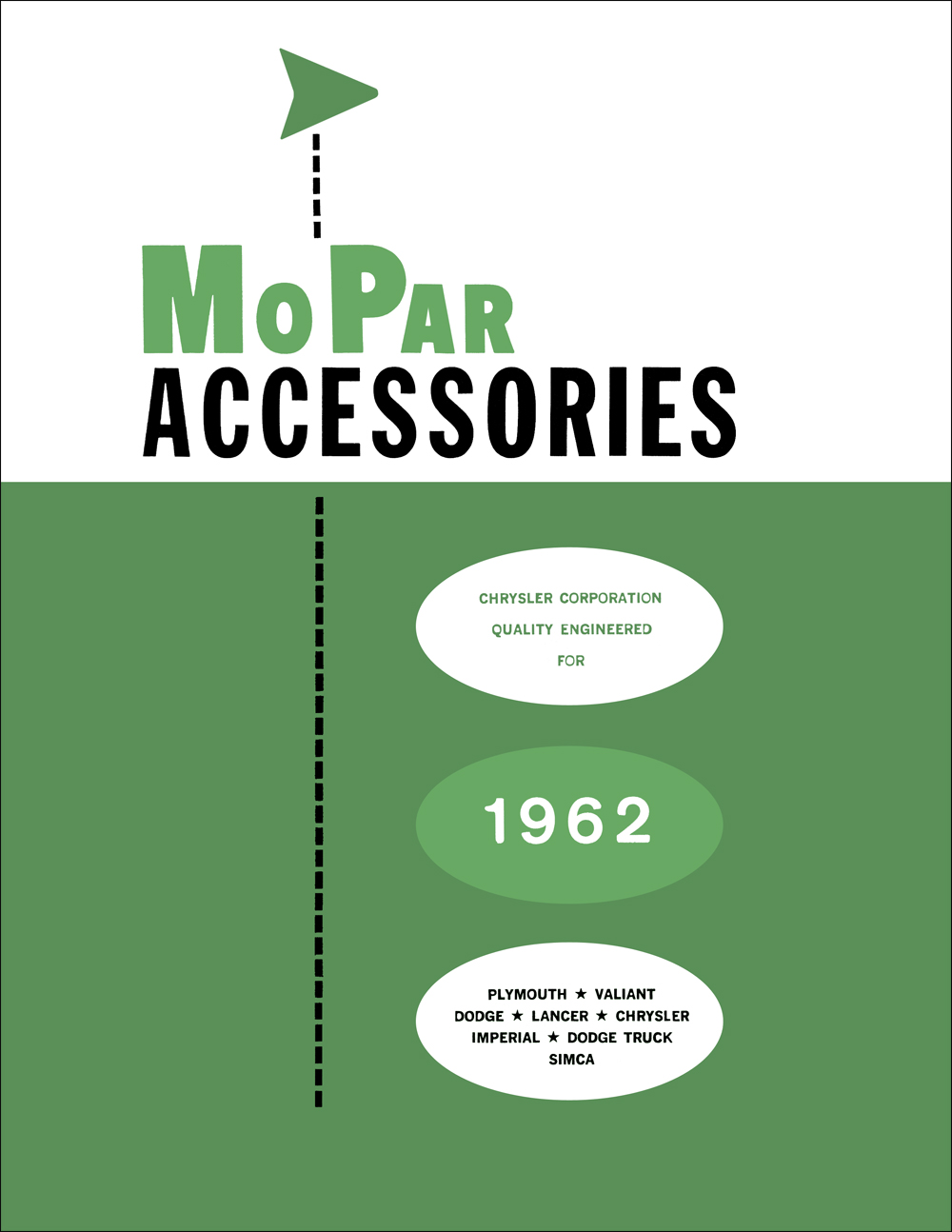 1962 MoPar Accessories Parts Book Reprint