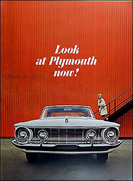 1962 Plymouth Original Sales Catalog 62 Fury, Belvedere, Savoy