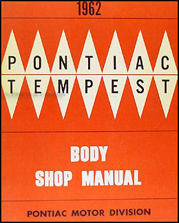 1962 Pontiac Body Repair Manual Original