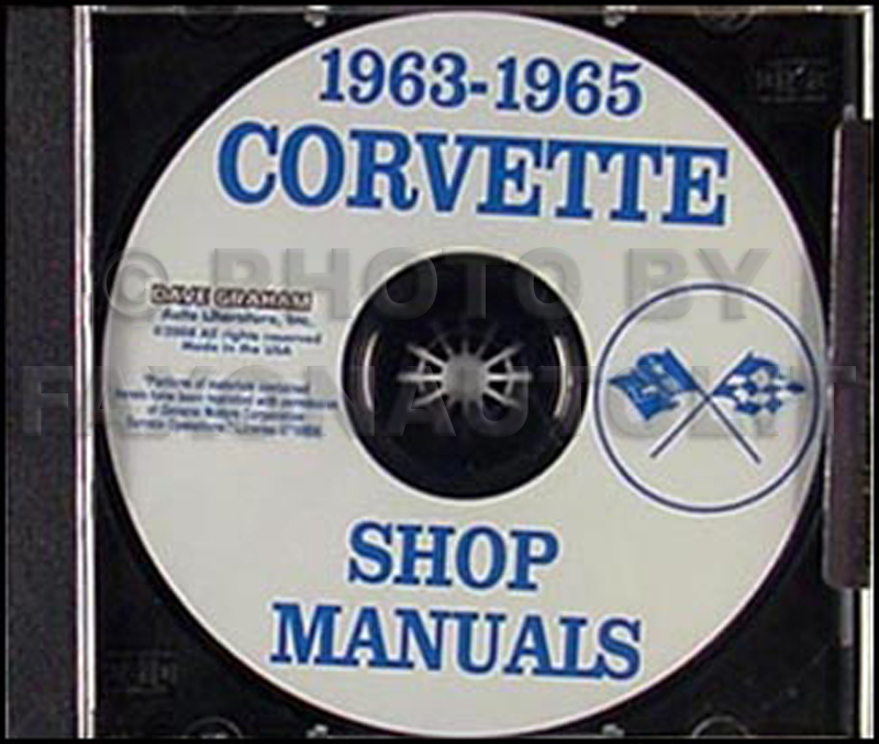 1963-1965 Corvette CD Shop Manual