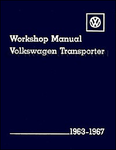 1963-1967 VW Transporter/Bus Repair Manual Reprint