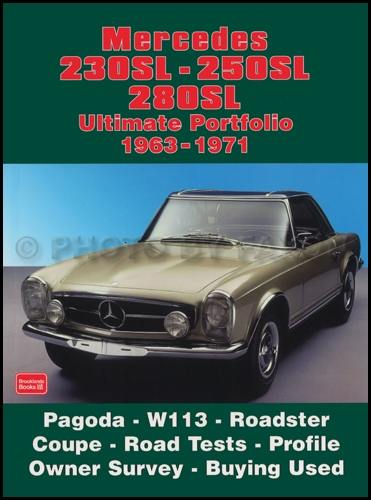 Mercedes 230SL 250SL 280SL Ultimate Portfolio of Magazine Articles 1963-1971