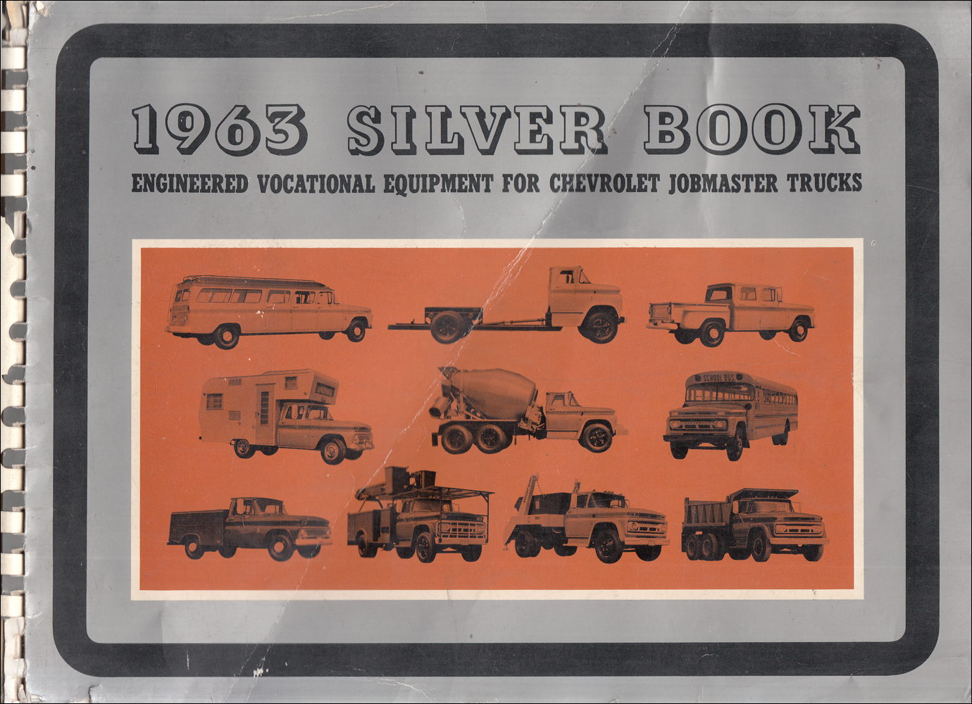 1963 Chevrolet Truck Silver Book Special Equipment Dealer Album