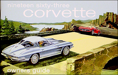 1963 Corvette Reprint Owner's Manual