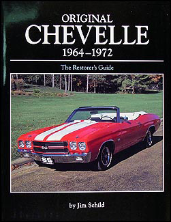1964-1972 Chevelle Restorer's Guide to Originality