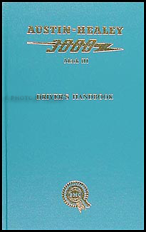 1964-1967 Austin Healey 3000 Mark III Owners Manual Reprint