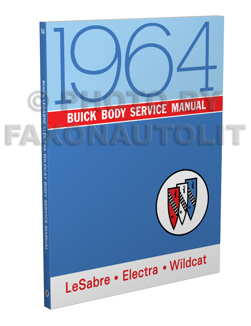 SHOP MANUAL BUICK SERVICE REPAIR 1964 BOOK