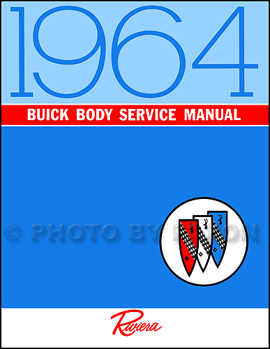 1964 Buick Body Shop Manual Original - All Series