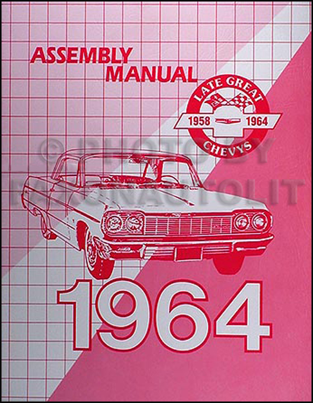 1964 chevy car wiring diagram manual reprint impala bel air biscayne rh faxonautoliterature com 1964 chevy impala wiring diagram