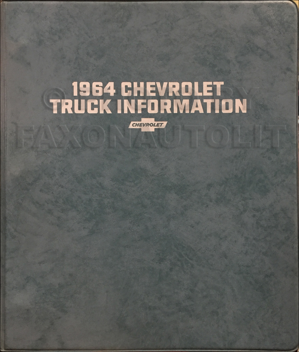 1964 Chevrolet Truck Sales Brochure Set in a Dealer Album