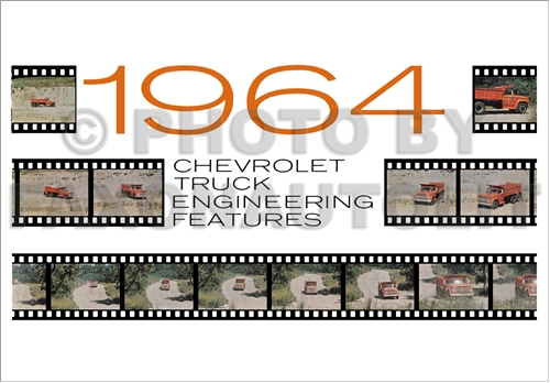 1964 Chevrolet Truck Engineering Features Manual Reprint