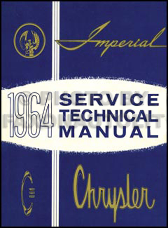 1964 Chrysler and Imperial Shop Manual Reprint