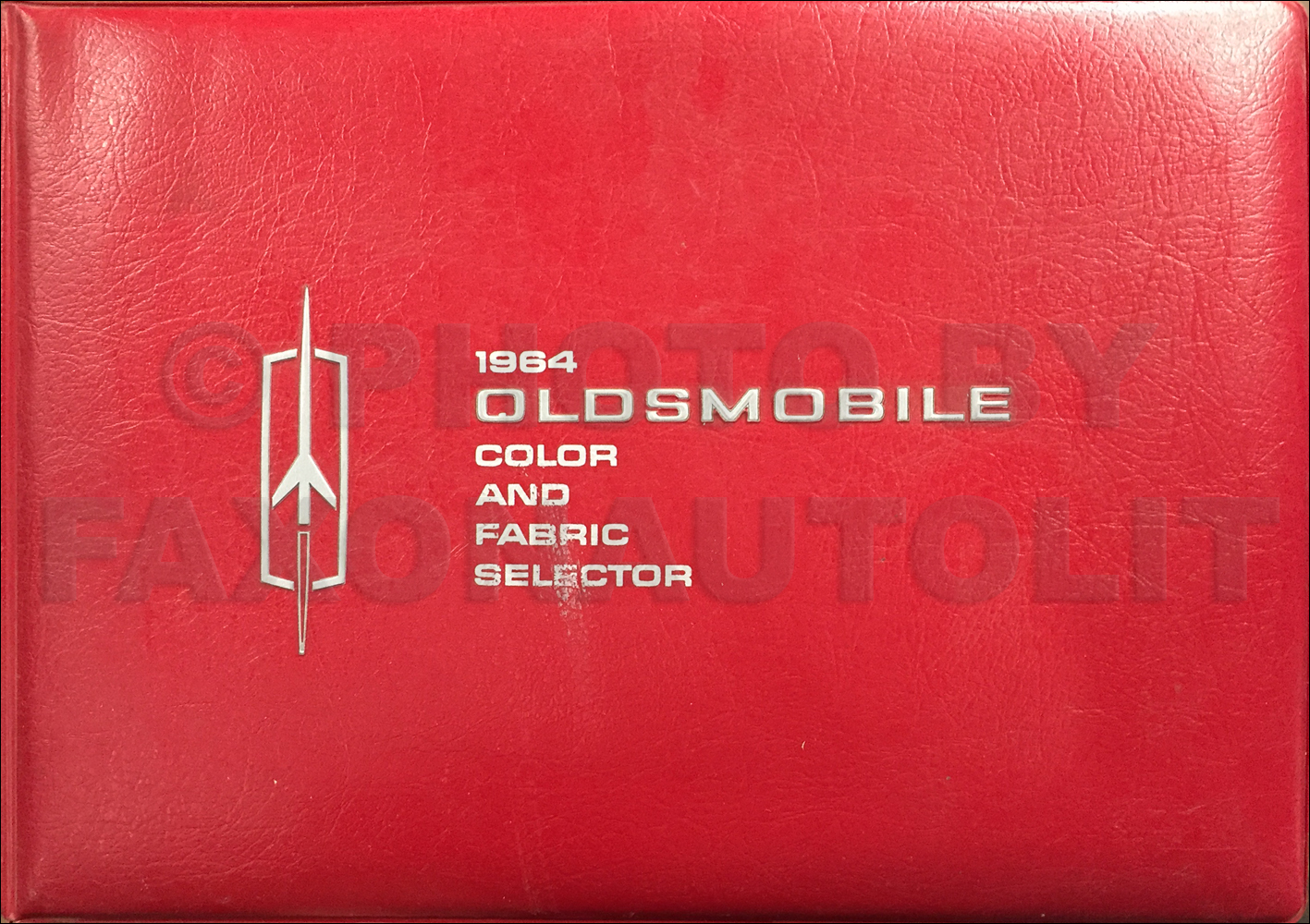 1964 Oldsmobile Color & Upholstery Dealer Album Original