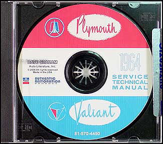 1964 Plymouth CD-ROM Shop Manual