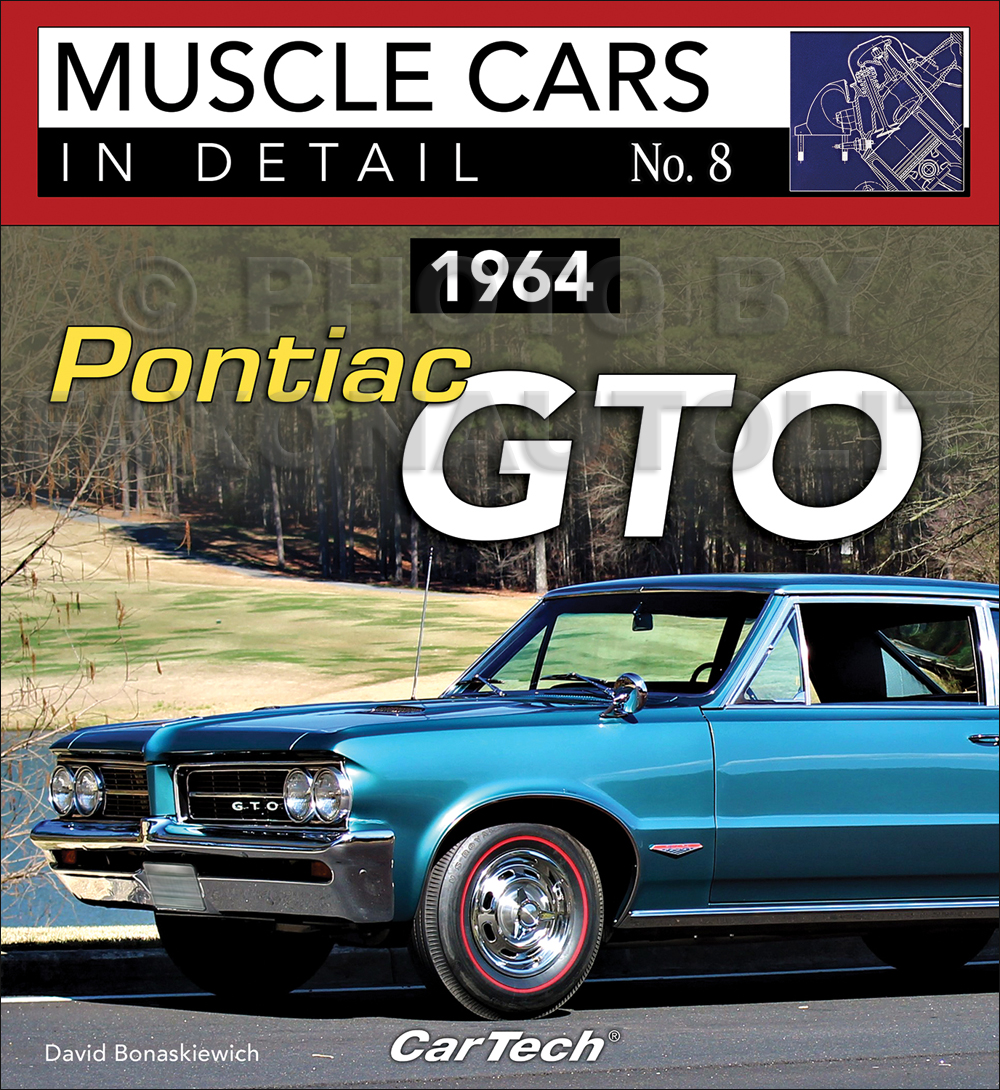 1964 pontiac gto muscle cars in detail picture history book