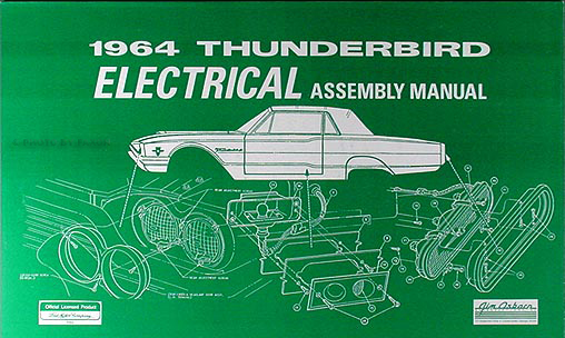 1964 ford thunderbird wiring diagram manual reprint rh faxonautoliterature com 1966 Thunderbird Steering Wheel 1966 Thunderbird Engine Compartment