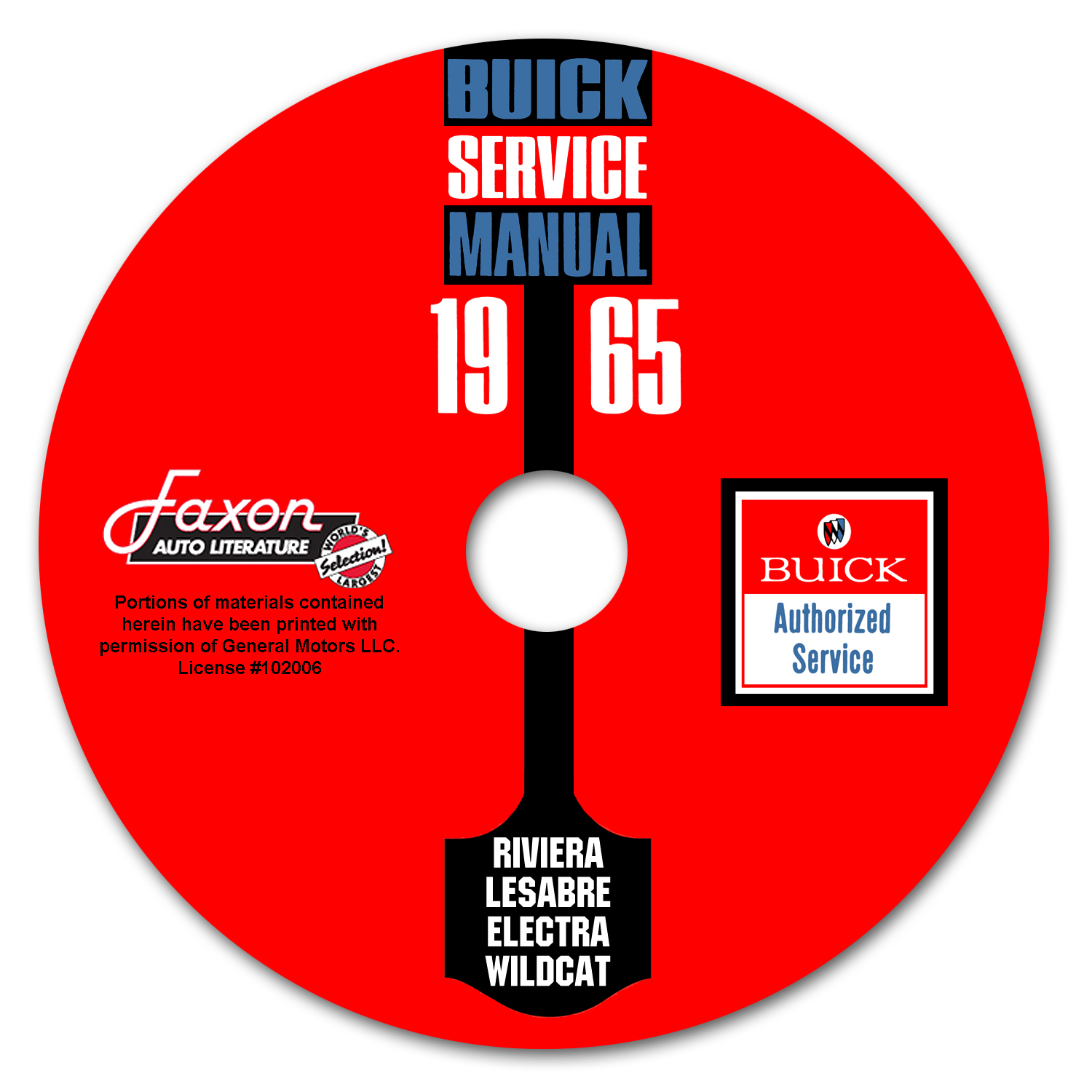 1965 Buick CD-ROM Shop Manual, all models