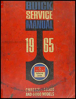 1965 Buick Special & Skylark Shop Manual Original