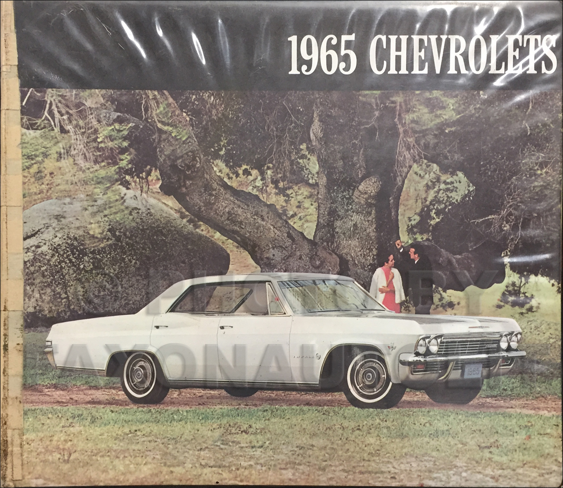 1965 Chevrolet Car Color and Upholstery Dealer Album Original