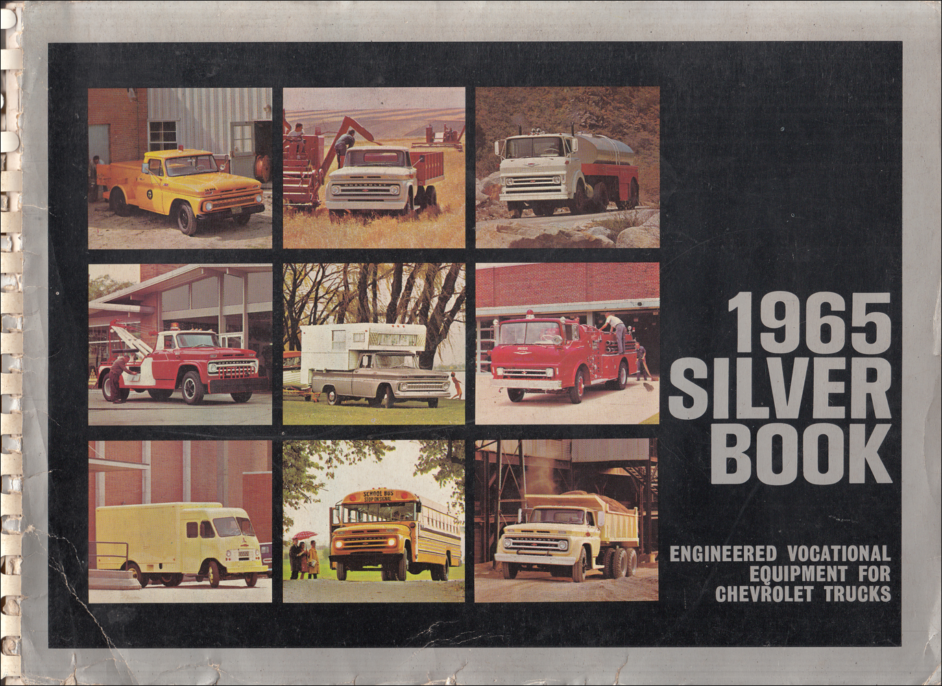 1965 Chevrolet Truck Silver Book Special Equipment Dealer Album