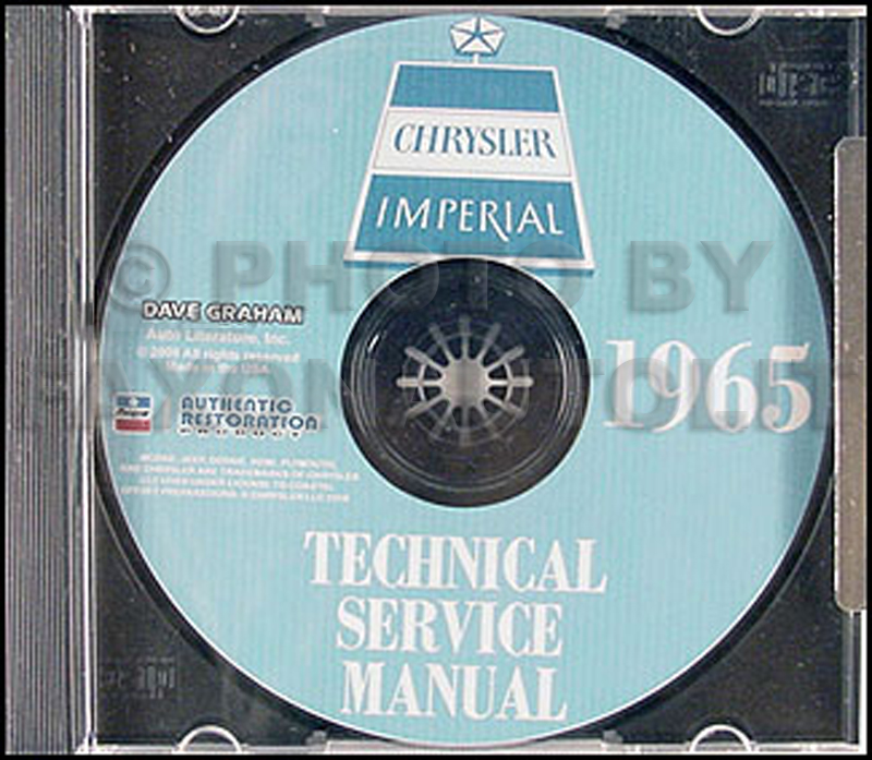 1965 Chrysler CD Repair Shop Manual Imperial New Yorker 300 Newport LeBaron