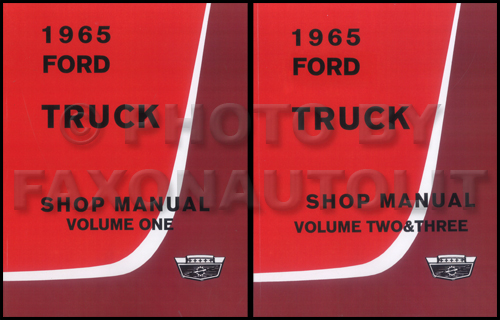 1966 Ford Truck Shop Manual Reprint Set