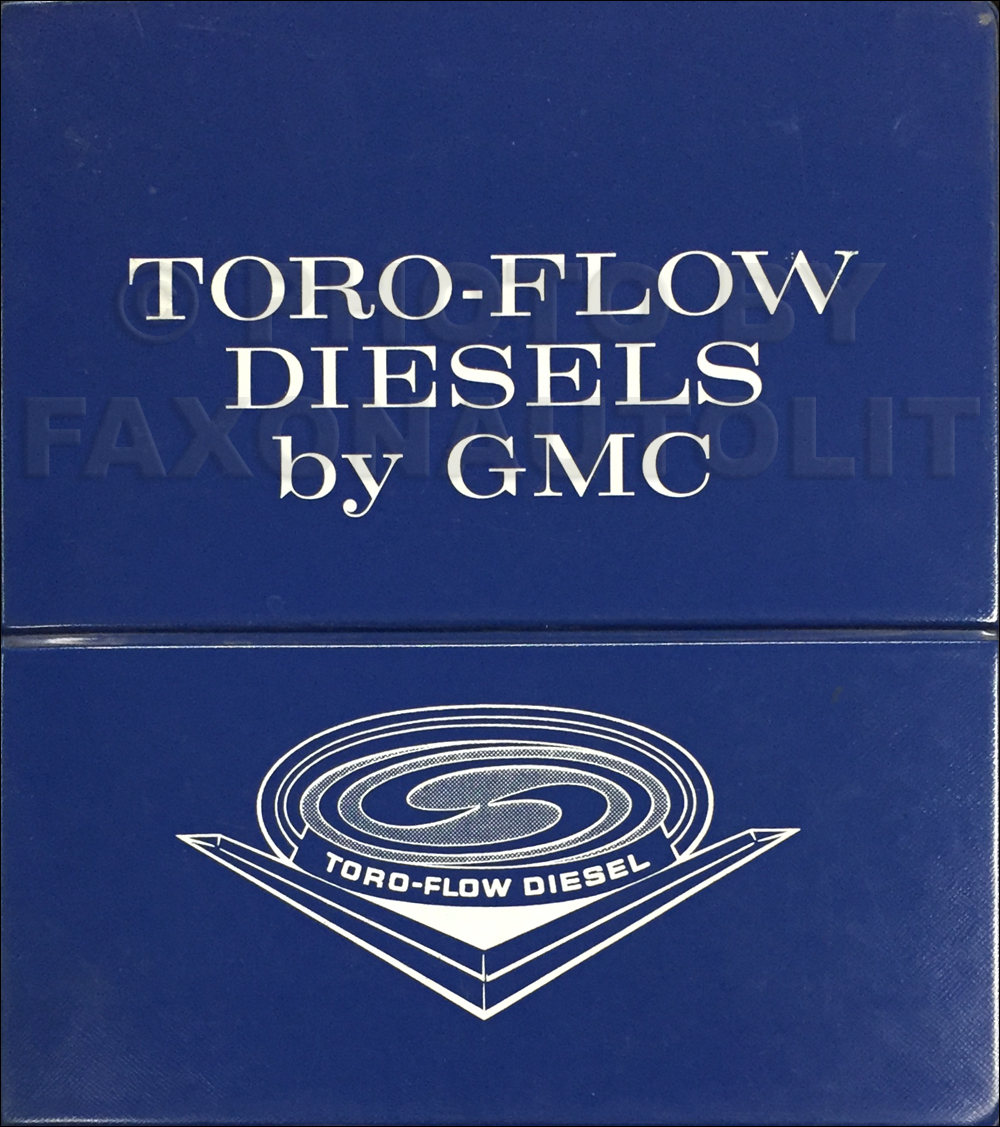 1965 GMC Toro-Flow Diesel Engine Dealer Album Original