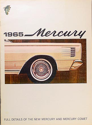 1965 Mercury Sales Catalog Original--All Models