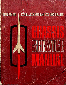 1965 Oldsmobile Repair Shop Manual Original