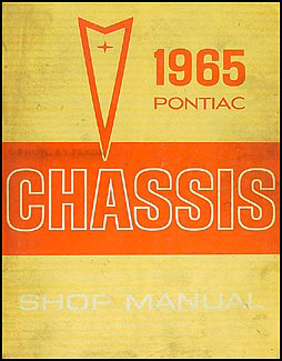 1965 Pontiac Repair Shop Manual Original-Catalina Star Chief Bonneville Grand Prix