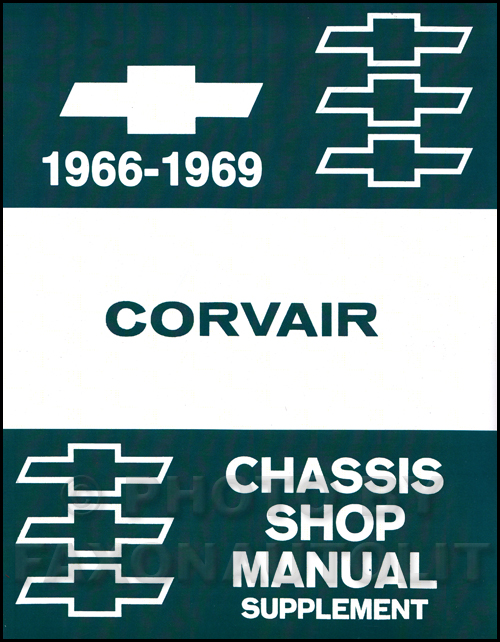 1966 Chevrolet Corvair Shop Manual Original Supplement