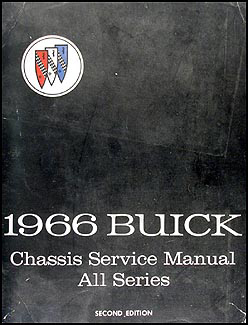 1966 Buick Shop Manual Original - All Models