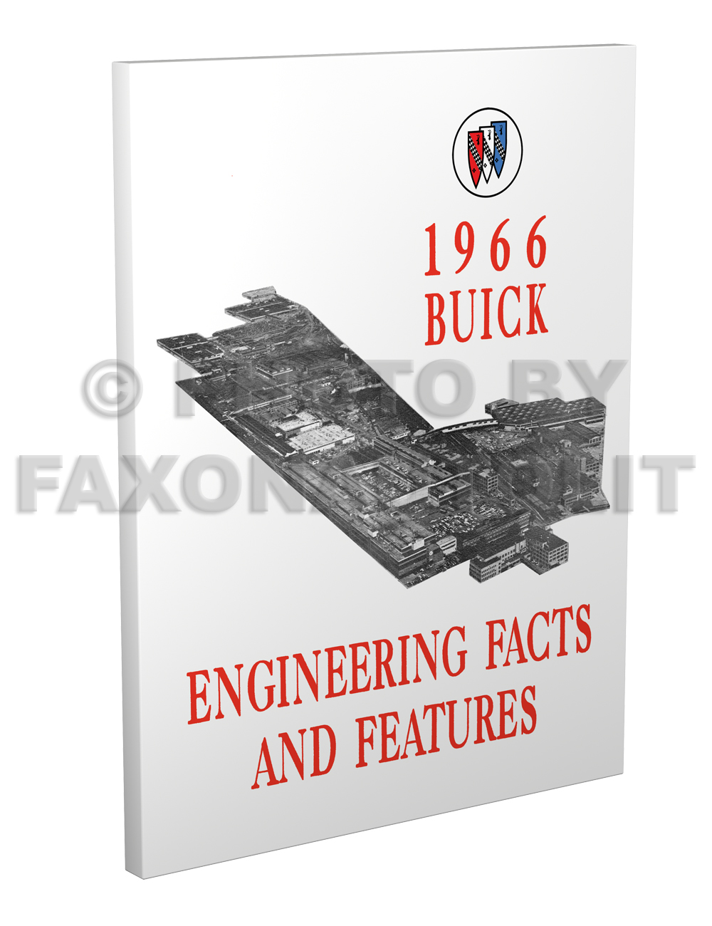 1966 Buick Engineering Facts & Features Manual Reprint