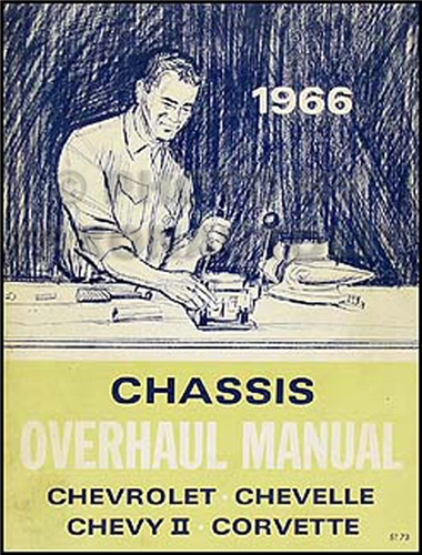 1966 Chevy Car Overhaul Manual Original