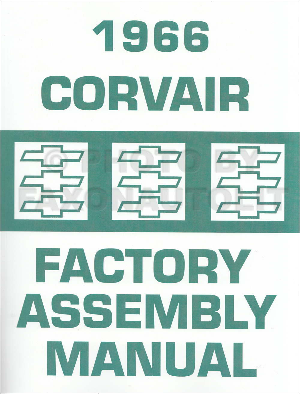 1966 Chevy Corvair and Monza Assembly Manual Reprint