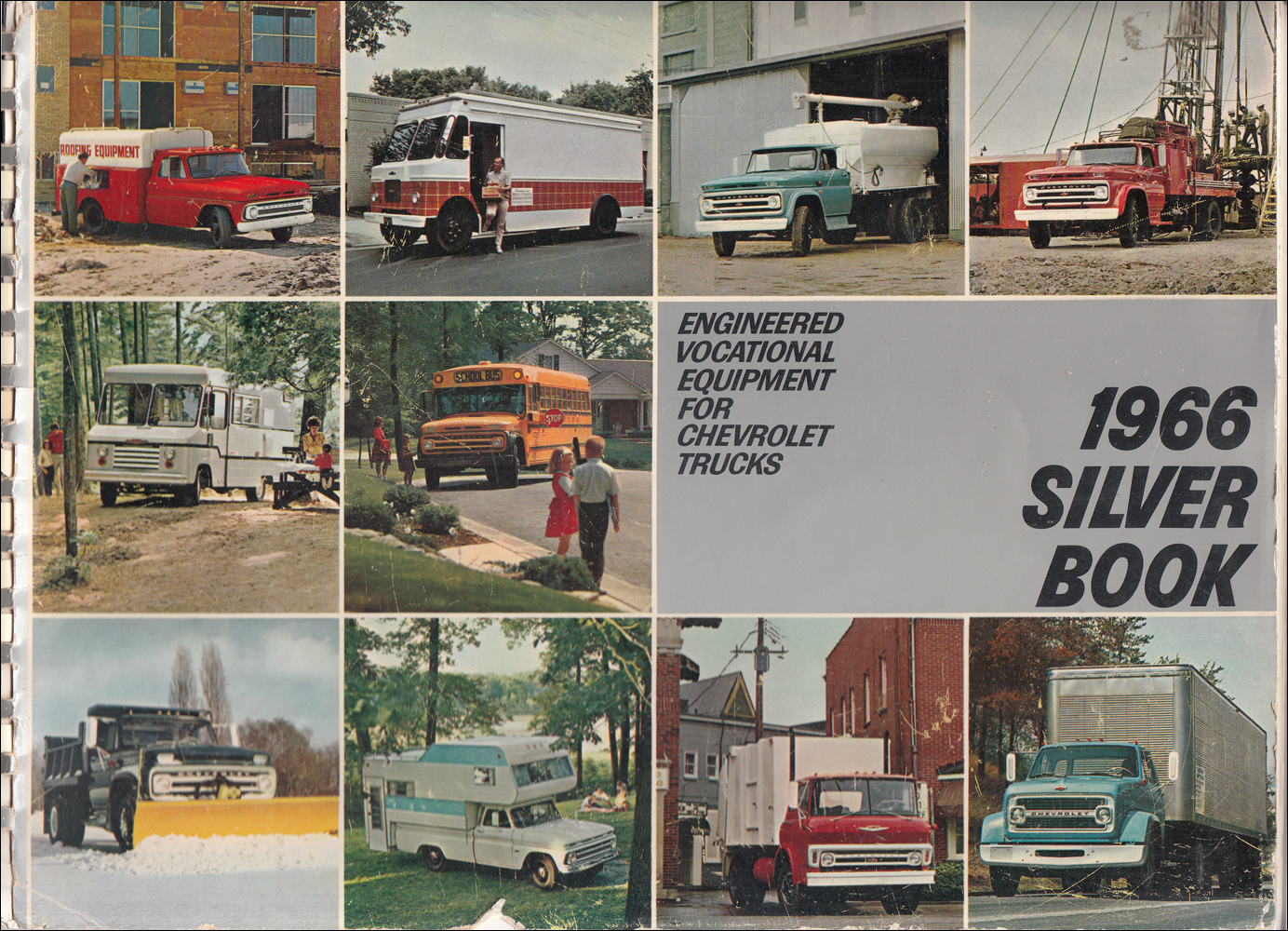 1966 Chevrolet Truck Silver Book Special Equipment Dealer Album