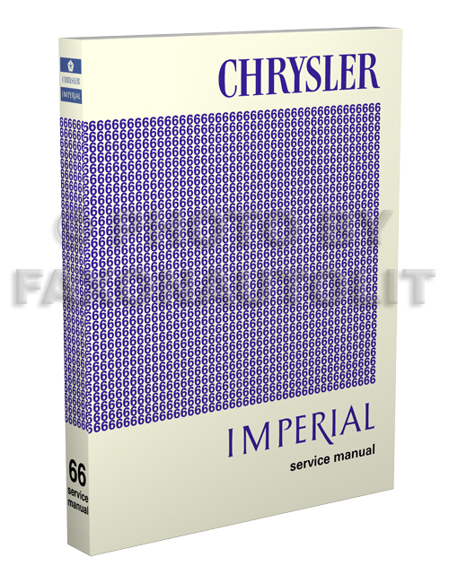 1966 Chrysler & Imperial Shop Manual Reprint