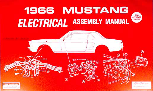 1966 Ford Mustang Electrical Assembly Manual Reprintrhfaxonautoliterature: Wiring Diagrams For 1966 Mustang At Gmaili.net