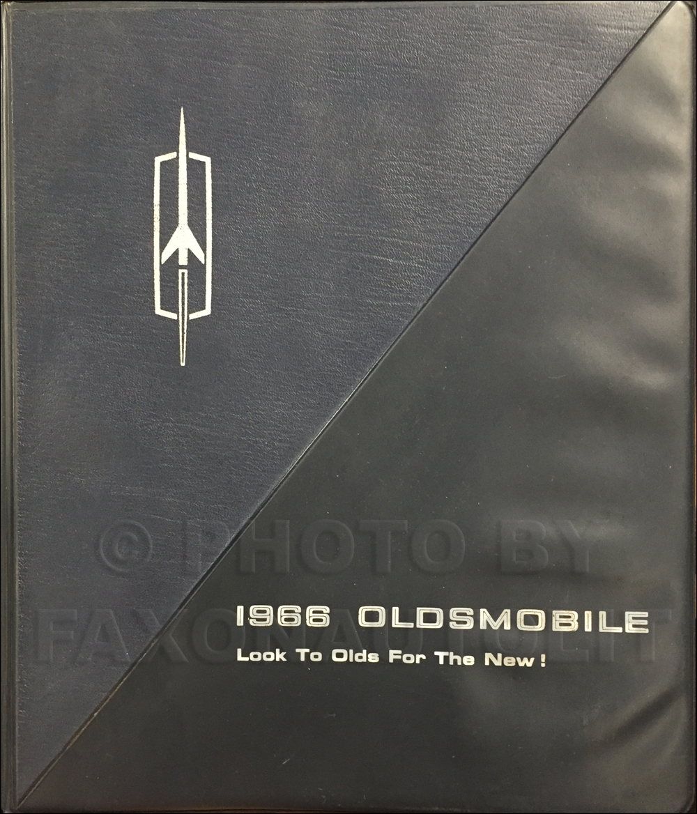 1966 Oldsmobile Data Book Original