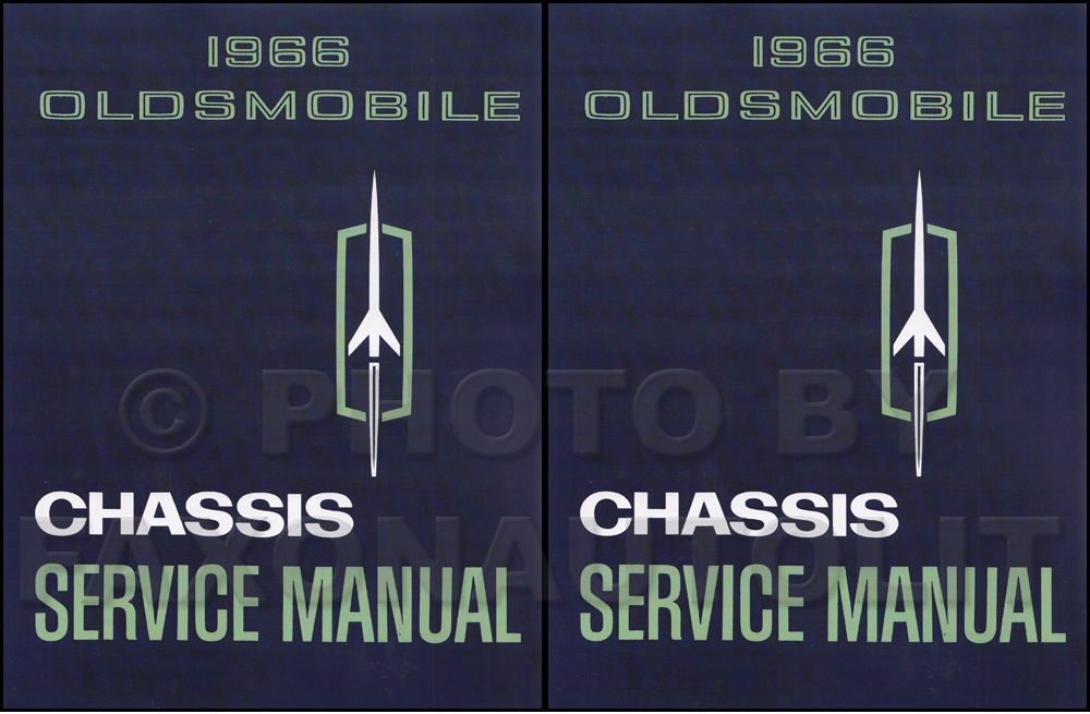 1966 Oldsmobile Shop Manual Reprint 442/Cutlass/88/98/Toronado