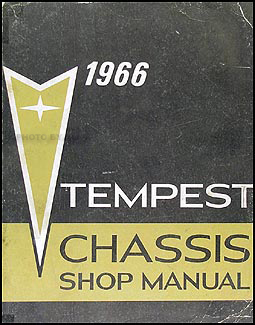 1966 Pontiac Tempest, LeMans, & GTO Shop Manual Original